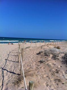 Valencia, Albufera Beach