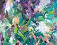 """Tropical Dream"" by Amber Gittins. Paintings for Sale."