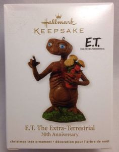 Hallmark 2012 E.T. The Extra-Terrestrial Ornament 30th Anniversary Keepsake New