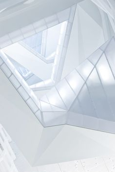 processingmatter:    The Cooper Union (interior view) by Morphosis