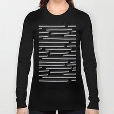 Lines design Long Sleeve T-shirt Urban Looks, Iphone Skins, Line Design, Graphic Sweatshirt, T Shirt, Abstract Pattern, Urban Fashion, Framed Art Prints, Laptop Sleeves