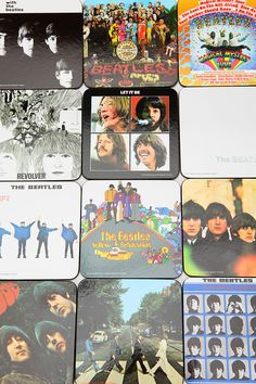 The Beatles Coasters Set Of 13