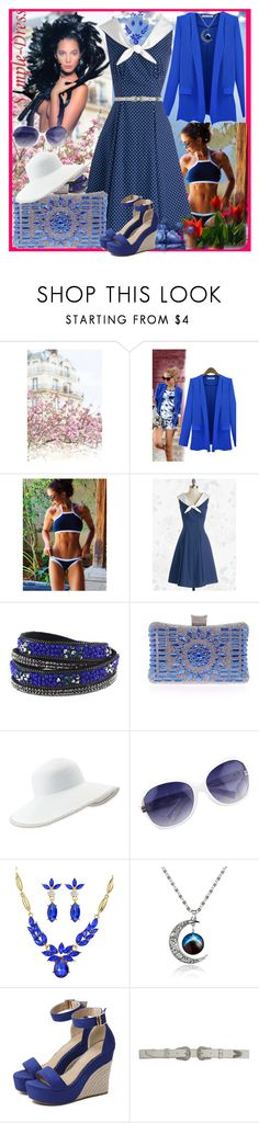 """""""www.simple-dress.com 29"""" by ane-twist ❤ liked on Polyvore featuring Eric Javits, vintage and simpledress"""