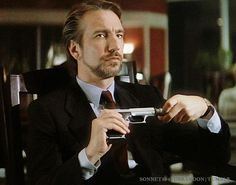 Hans Gruber from the one and only Die Hard - the original is always best