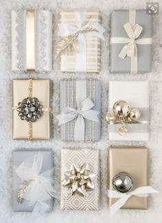Professional gift wrap techniques