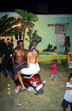 """Paul & Shanae, from the series """"Young Love"""", Jamaica 
