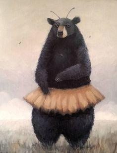 Vintage Bee & Beehives - Bee Decor — The Beehive Shoppe Vintage Bee, Bear Illustration, Bee Art, Bees Knees, Animal Drawings, Animal Paintings, Shade Perennials, Shade Plants, Bumble Bees