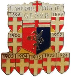 g/7) distintivo Genoa