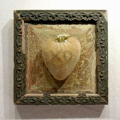 Love Me True  Mixed Media Assemblage  Wood by FoundARTvision, $85.00