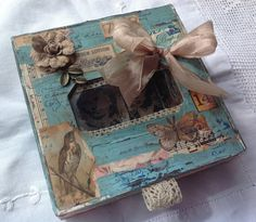 Innovative creativity from PaperArtsy. Paint, stencils, and techniques galore for any mixed media enthusiast to enjoy. Music Paper, Torn Paper, Altered Boxes, Vintage Music, Easter Treats, Mixed Media Canvas, Crafty Projects, Distress Ink