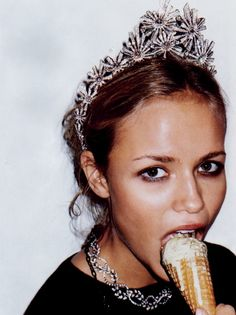 Natasha Poly by Terry Richardson for Vogue Paris January 2005