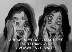sad, quote, and grunge image