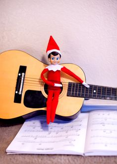 I know H is to young to get it, but I MUST do Elf on the shelf for him!! These are cute ones :)