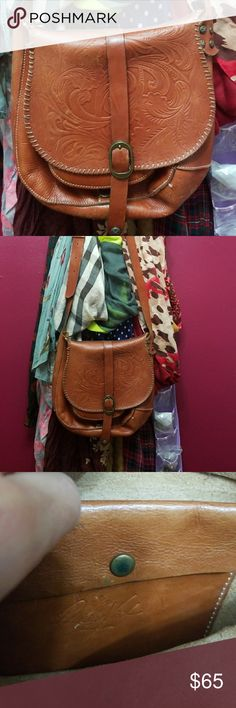 Patricia Nash cross Body bag Beautifully made Italian leather cross body bag...Gently worn. Patricia Nash Bags