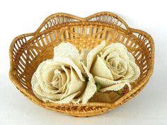 Uniquely Designed Vintage Bread Basket