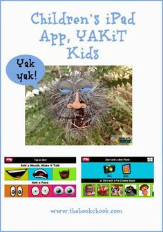 Encourage self-expression with Children's iPad App, YAKiT Kids