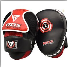 VELO Boxing Focus Pads Micro Fiber Leather  Hook and Jabs Mini Punch Mitts mma