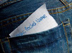 Magic Pocket Name- Great idea for behavior management.