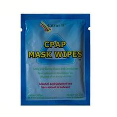 Convenient, quick + easy way to clean CPAP Masks when travelling. £6.00