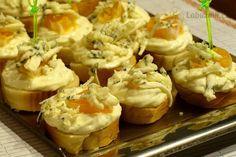 Česneková pomazánka na jednohubky Baked Potato, Ham, Mashed Potatoes, Recipies, Snacks, Baking, Ethnic Recipes, Food, Detail