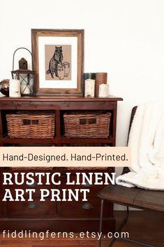 Hand-Designed Home Goods - Towels, Napkins, Totes, etc. Fabric Art, Linen Fabric, Decorative Napkins, Screen Printing Process, Acrylic Paint Pens, Handprint Art, Hand Designs, Napkins Set, Table Linens
