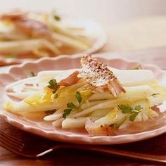 Endive-Apple Slaw with Smoked Trout | MyRecipes.com