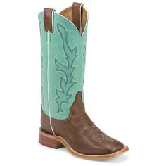 Women's Justin Boots Chocolate Burnished Calf - Boots - Casual Shoes - SHOEBACCA.com  #cowboyboots