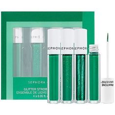 SEPHORAPANTONE UNIVERSE Glitter Strobe Eyeliner Set Emerald 005 oz *** This is an Amazon Affiliate link. Read more at the image link.