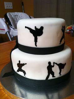 1 Dan Karate Cake