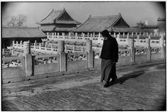 Henri Cartier-Bresson CHINA. Beijing. December 1948. The Forbidden City.