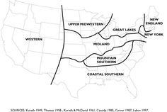 Linguistic Geography Mainland United States (click on the quiz link to identify your accent)