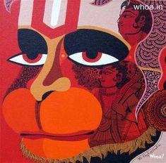 Lord Hanuman Super Wallpaper, Mobile Image, Art Image Of Lord Hanuman Hanuman Hd Wallpaper, Lord Shiva Hd Wallpaper, Bal Hanuman, Krishna Radha, Peacock Painting, Mural Painting, Silk Painting, Acrylic Paintings, Shivaji Maharaj Hd Wallpaper