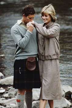 1981 The royal couple during their honeymoon in Scotland.  via @AOL_Lifestyle Read more: http://www.aol.com/article/2016/06/29/princess-dianas-gravesite-is-getting-a-multimillion-dollar-make/21421568/?a_dgi=aolshare_pinterest#fullscreen