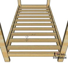House Frame Bed bedslats