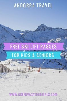 Andorra Travel Destinations - Find out why Andorra is such a beautiful destination for a European ski holiday AND why it can save you money for your travel budget! Andorra Skiing Resorts | Ski Holidays in Europe | Andorra Hotels #Ski #LiftPass #Kids #Seniors #Andorra #Skiing #SkiLessons #SkiHoliday #SkiTrip #SkiVacation #BASI #Familytravel #Children #Familyholiday #Travel #Familytrip #Skier #budgettravelforseniors #traveldestinationseuropean #budgettraveldestinations