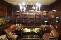 A Traveler's Guide to Washington, D.C.'s Top-Secret Spots   Where to find little-known art collections, underground tunnels and other hidden haunts of the city's elite.  (Photo:!The Book Room, only available to guests, at the Jefferson hotel.)