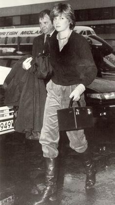 May 3, 1981 - Lady Diana flies from London to Aberdeen to meet up with Prince Charles after his 5 week Overseas tour. He returned to Britain on May 3, in a RAF VC10, landing at Lossiemouth in Scotland and drove to Balmoral where Lady Diana was waiting for him.