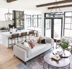 Living Room Decor Furniture, Interior Design Living Room, Living Room Designs, Furniture Layout, Pallet Furniture, Interior Shop, Couch Furniture, Furniture Arrangement, Design Bedroom