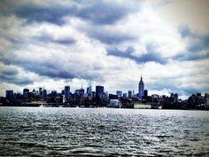 NYC skyline, Hoboken's view