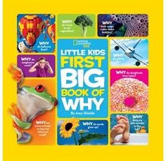 Read National Geographic Little Kids First Big Book of Why (National Geogra children book by Amy Shields . Linking to a popular feature in the super successful National Geographic Little Kids magazine, this book brings the bro Upstate New York, Holes Book, 4 Year Old Boy, Learning English For Kids, Early Learning, Stem Learning, Plus Games, Why Book, Kindergarten Books