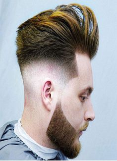 New trend of short hair cut getting trendy in young boys, every college boy should try it once for attractive and sexy look. It gives awesome and decent look to the personality. Young Mens Hairstyles, Young Men Haircuts, Quiff Hairstyles, Cool Mens Haircuts, Cool Hairstyles, Man's Hairstyle, Men's Haircuts, Short Curly Hair, Short Hair Cuts