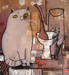 Tatyana Gorshunova - Cat