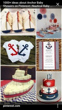 d92422532e694 Baby Shower Oso, Baby Shower Parties, Baby Shower Themes, Baby Shower  Nautical,