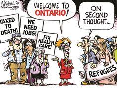 Presumptuous Politics: Canada Refugee Cartoons
