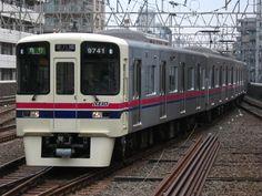 Keio Line (京王線) Model 9000 (normally running bet Yodabashi & MeiDai Mae sta.)