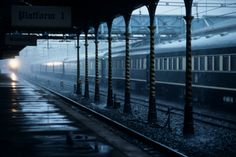 Kimberley Train Station on rainy day ~ South Africa Diamond City, Shopping World, Train Tracks, Science And Nature, Model Trains, Rainy Days, South Africa, Tourism, Beautiful Places
