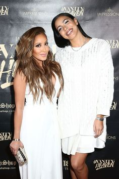 Adrienne Bailon Photos Photos - Adrienne Bailon and Julissa Bermudez arrive at the #VanityHeaven Flagship Store Grand Opening on December 3, 2016 in Tustin, California. - #VanityHeaven Flagship Store Grand Opening