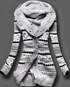 Knit Christmas cardigan