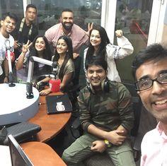 So now we r at city 1016 dubai .. guys we r live #firangionnov24 Kapil Sharma, Dubai, Comedy, Fan, Guys, Live, Fictional Characters, Comedy Theater, Hand Fan