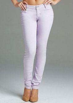 Paris Blues Colored Skinny Jean - Lavender - Skinny - Jeans - Sale - Alloy Apparel